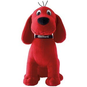 Kohl's Care Clifford the Big Red Dog Plush Dog -