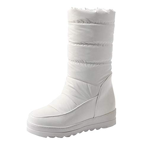 COPPEN Women Snow Boot High Winter Rubber Sole Warm Outdoor