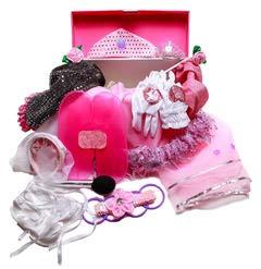 MMP Living Girls Dress Up Set: Princess, Ballerina, Pop Diva, Bride, Fairy Accessories for Pretend Play -