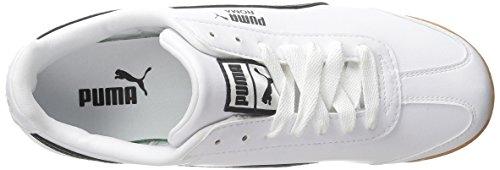 PUMA Herren Roma Basic Sneaker Weiß schwarz