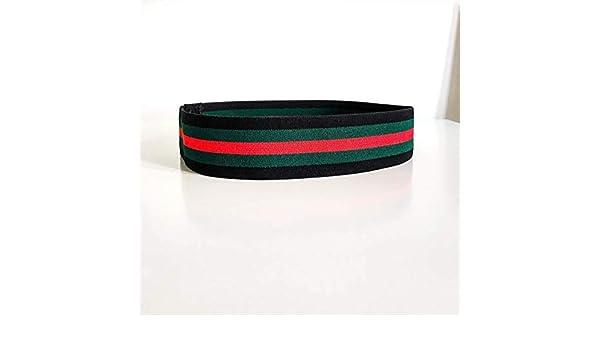 b0617407d1b Amazon.com  Black Green Red headband