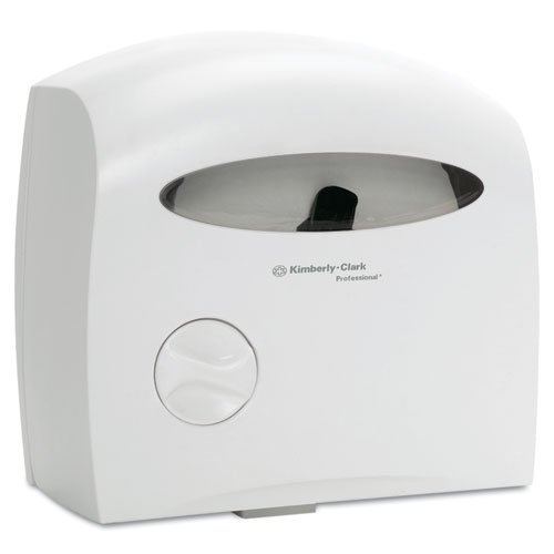 Electronic Touchless Coreless JRT Dispenser, 12 2/3w x 6 7/8d x 13h, White