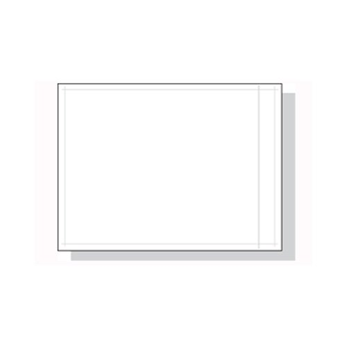 4.5 x 6'' Packing List Envelopes - Clear Face (1,000 Envelopes) - Laddawn 3868 by Miller Supply Inc