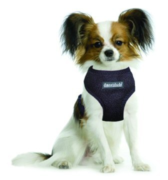 Vo-Toys Doggiduds Comfy Harness Large Black 11-19 lbs, My Pet Supplies