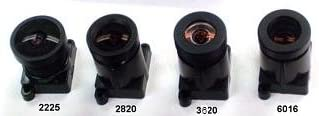 Lens 3.6mm F2.0 ONLY WITH IR cut filter NO HOLDER as found on the C328//C329 cameras IR