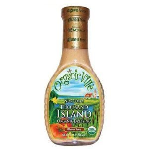 OrganicVille Thousand Island Dressing, 8 Ounce - 6 per case.