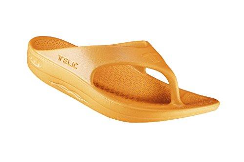 Sandalo Flip Flop Moda Maschile (made In The Usa) Dolce Mandarino