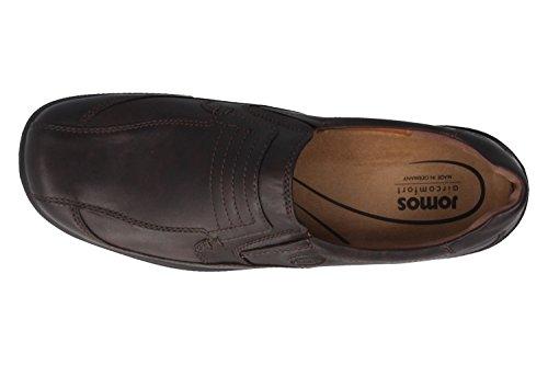 Jomos–Herren Slipper–Marron Chaussures en übergrößen