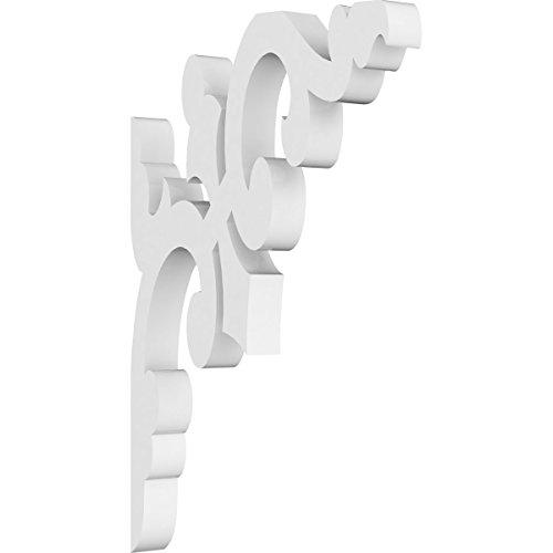 (Ekena Millwork BKTP01X04X07MI PVC Bracket, 5/8
