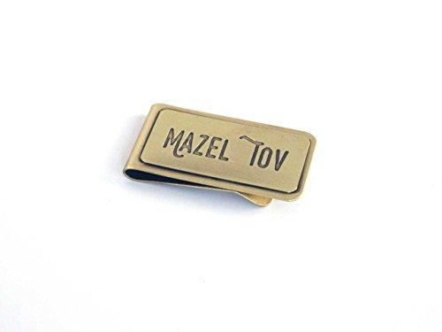 Mitzvah Confirmation Bar - Graduation Gifts for Boys Confirmation Gifts Bar Mitzvah Gifts Mens Money Clip Mazeltov