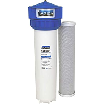 Image of Water Softeners Aquios Jumbo Salt Free Full House Water Softener and Filter System - New Model