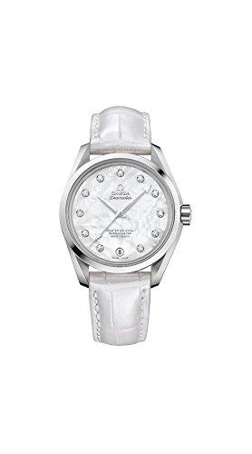 Omega Seamaster Aqua Terra Automatic Diamond Ladies Watch 231.13.39.21.55.002