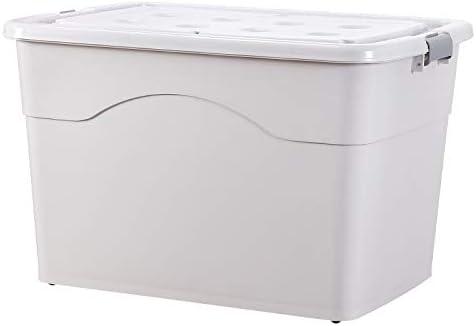 XYLZJ Caja De Almacenamiento De Ropa De Plástico Caja De Almacenamiento Dormitorio del Hogar Caja De Acabado Sencillo 250-L: Amazon.es: Hogar