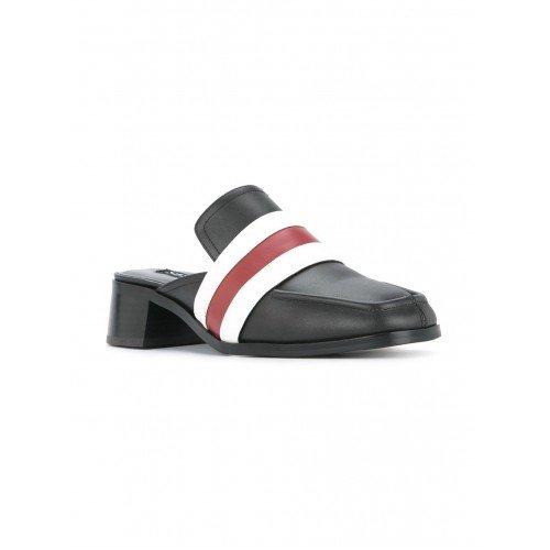 Piel Mujer Negro Vestir Senso Zapatos Para De xwqOwXST
