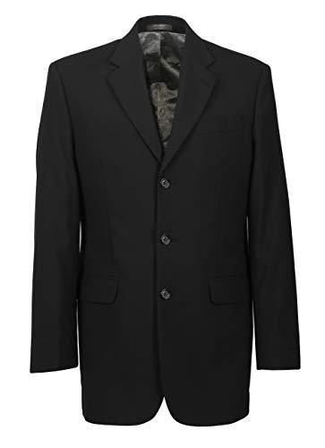 Herren Sakko DREI-Knopf klassisch Reverskragen Blazer Jackett Anzug Regular Fit bequem