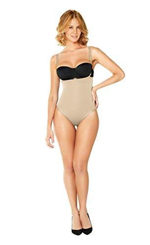 DIANE & GEORDI 2367B Tummy Control Shapewear Thong for Women | Fajas Colombianas