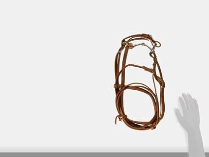 5//8-Inch Hamilton Headstall Bridle Set Pony Burgundy