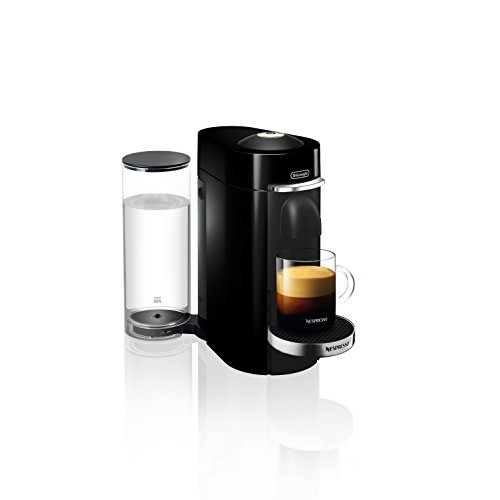 nespresso vertuoplus deluxe coffee and espresso maker by de 39 longhi with aeroccino black buy. Black Bedroom Furniture Sets. Home Design Ideas