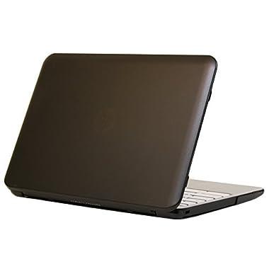 iPearl mCover Hard Shell Case for 11.6  HP Chromebook 11 G2 / G3 / G4 laptops (Black)