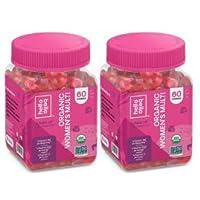 Hello Bello Organic Women's Multi Vitamin Gummy – 60ct (Pack of 2)