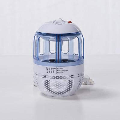 Electronic Bug Zapper Killer Indoor Outdoor Mosquito Trap Fly Insect Bug Killer UV Light Lamp with 360 Degree Escape Proof Mesh   White