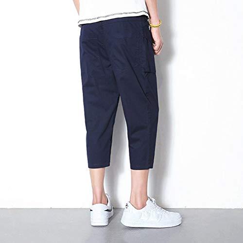 Pour Joggers Travail Blau Doux Chic Léger Hommes Courts Mode Pantalons Eté Shorts 3 Bolawoo De 77 4 wpUqxt7
