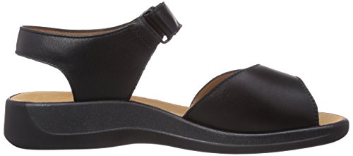 Ganter Monica, Weite G, Women's Sandals Black (Schwarz 0100)