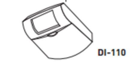 1- WATTSTOPPER DI-110 PIR DESKTOP OCCUPANCY DENSOR 12V ADJUSTABLE TIME DELAY
