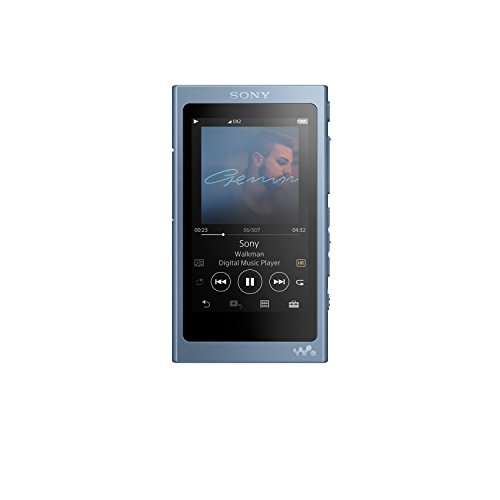Sony NW-A45/L Walkman with Hi-Res Audio, Moonlit Blue (2018 Model) (Mp3 Player Hd)