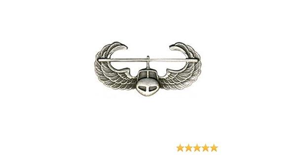 Air Assault Regulation Badge Silver Oxidized