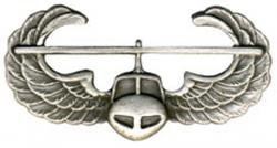 Army Air Assault Badge Oxidized Finish - Regulation