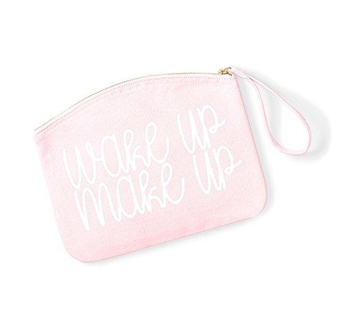 De Accesorios Y Despertar Maquillaje Blanco Organiser Bolsa Maquillaje Rosa Cosméticos Claro fx1tRq