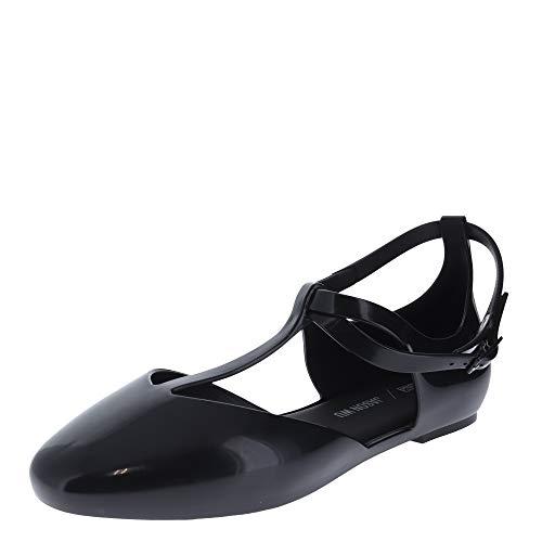 Melissa Penelope + Jason Wu Black Womens Ankle Strap Size 6M
