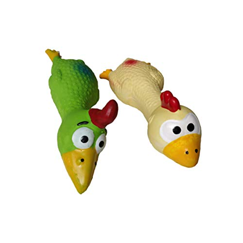 PetzoPet Dog Toys Squeaky Pilot Duo. Two Crazy Squeaky Bird Toys for a Lot of Fun to Your Furry Friend. Suitable for…