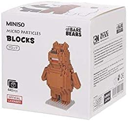 We Bare Bears Building Blocks - Micro Particles - Somos Osos - Escandalosos - Grizzly Bear