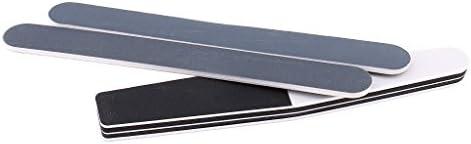 8ピースロングファイル研削砂バーバーニングスティックモデル研磨ツール