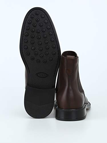 In Boots Uomo Leather Ankle Marrone Tod's ERSfqxA4