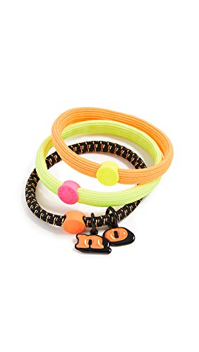 - Marc Jacobs Women's The No Hair Elastics, Neon Multi, One Size