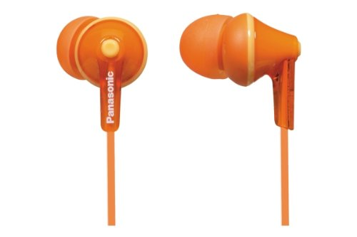Panasonic RP-HJE125E-D In-Ear Orange