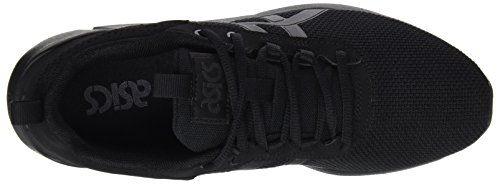 Adults' Trainers Asics Black H6k2n Bianco Unisex xRRwPY