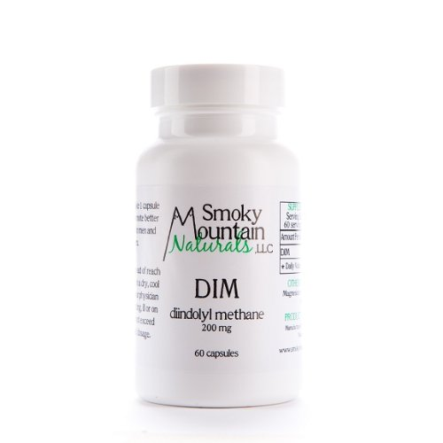 DIM (Di-indole Methane) / Promotes Beneficial Estrogen Metabolism in Men and Women – 60 Capsules, 200mg Each (2 Month Supply), Health Care Stuffs