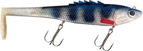 Chaos Tackle The Posseidon 10 Charged Cisco Musky Pike Lure Muskie Bait Lures Swim Bait Bull Dawg