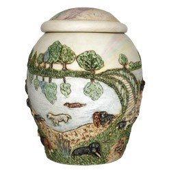 Harmony Ball Rainbow Bridge II DOG Cachepot- A Beautiful Urn for Pet Ashes, My Pet Supplies