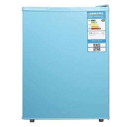 ZMXN 68 litros Refrigerador pequeño refrigerado de una sola puerta ...