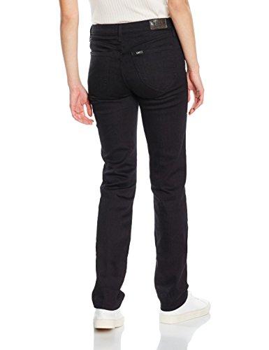 Lee Droit Marion Jeans Black Noir Rinse Femme wqwPT