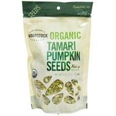 Woodstock B06803 Woodstock Farms Organic Tamari Pumpkin Seeds -8x9oz