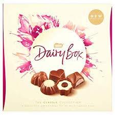 Nestle UK Dairy Box assortment carton (348g) Imported rom Ireland