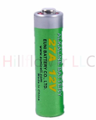 Price comparison product image Hillflower 10 Piece 27A A27 MN27 L828 CA22 27 Bulk 0% Mercury 0% Hg 12V Alkaline Battery
