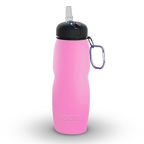 Cactus Collapsible Water Bottle Eco Friendly