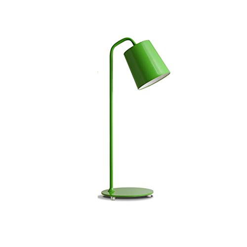 ZHANGBD Romantic Warm Desk Bedside Lamp Reading Lights Table Lamp Personality Creative Desk Lamp Nordic Desk Lamp for Bed, Kids, Study,Reading,Wedding [Energy Class A+] (Color : Green) by ZHANGBD (Image #6)